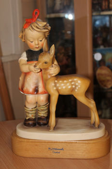 "Goebel Hummel - Figurine HUM 136 / V ""Friends"" TMK 2 (28 cm)"