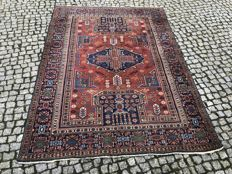 VINTAGE  PERSIAN / IRAN  Heriz Rug   210x155cm -hand knotted