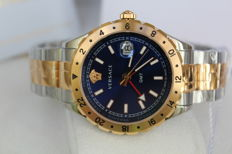 Versace - Swiss made gold-plated men's watch - in new condition - Men's