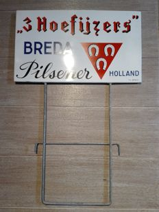 Crate display - '3 Hoefijzers' Beer - 1959