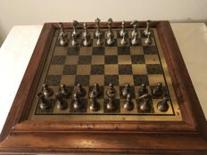 Italian high quality chess set by Italfama