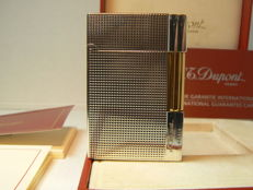 Silver plated Dupont Gatsby lighter