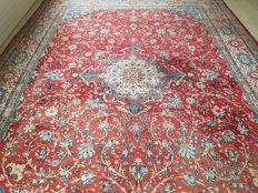 Dreamy Mega Large Persian Kashan with certificate