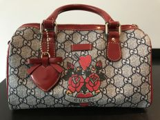 Gucci - GG Plus Monogram Small Tattoo Heart Joy Boston Red