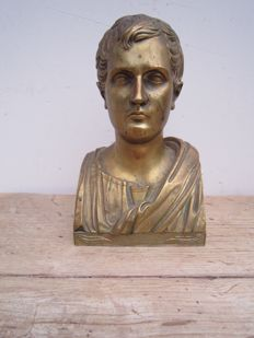 Napoleon Bonaparte - bronze bust - late 19th century - France