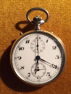 Lemania - chonograph pocket watch - 119967 - Mænd - 1901-1949