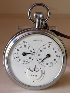 Junghans - Stopwatch 1/10sec - 5,55cm diameter - around 1970