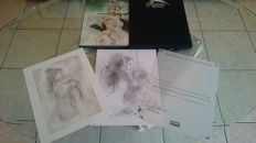 Royo, Luis - original drawing + Subversive Beauty + limited series print - C - EL - (2005)