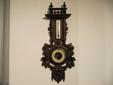 Very beautiful French barometer - late 19th century