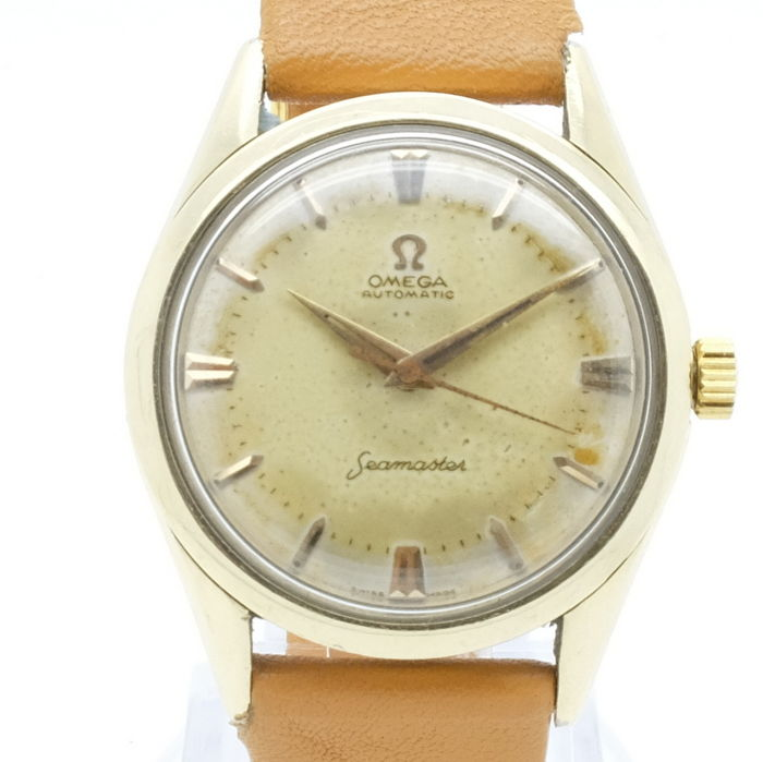 Omega - Seamaster - Automaat - Staal/gold Cap - Heren - 1950-1959