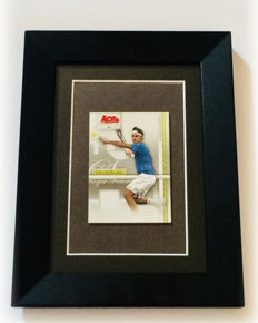 Roger Federer #16 Titles - Original Jersey part Used in an ATP Official Game - Limited Quantity.