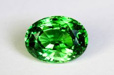 Intense Green Tsavorite -  2.48 ct