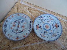 Two Imari plates - China - 18th century