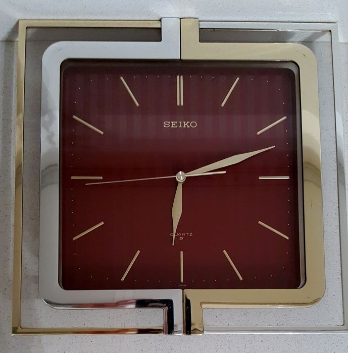 Seiko Wall Clock - 1980s