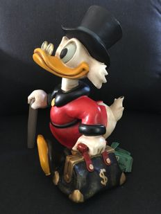 Disney, Walt - Figure - Scrooge McDuck with suitcase (c. 1980)