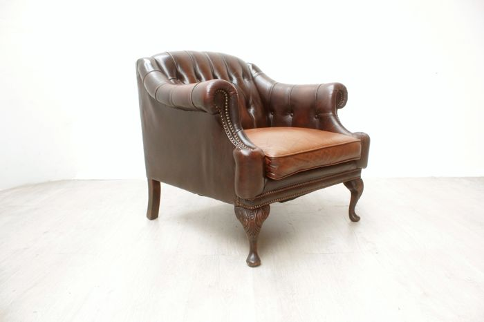 Chesterfield style armchair, England, second half of 20th century