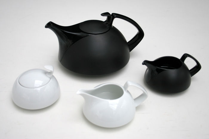 rosenthal tea service model tac designed by walter gropius catawiki. Black Bedroom Furniture Sets. Home Design Ideas