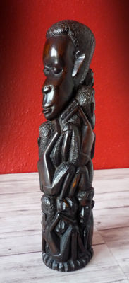Life tree woodcarving - MAKONDE - Tanzania