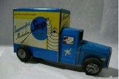 Michelin tin truck, original, c. 1960