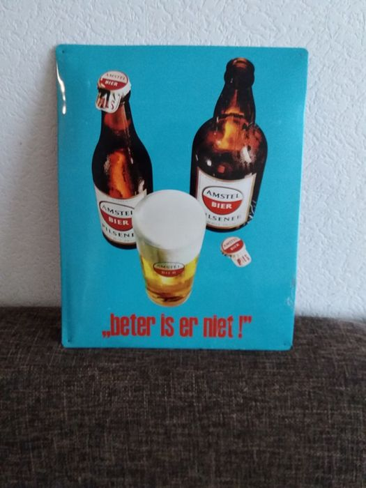Amstel beer advertising sign - 21st century