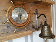 Barometer and ship's bell