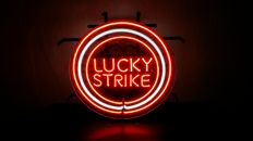Neon display - Lucky strike - second half 20th century