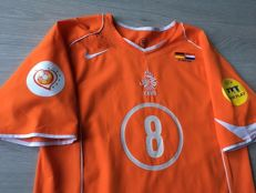 Legendary Shirt Dutch National Football Team Euro 2004 - The Netherlands vs. Germany - Edgar Davids.