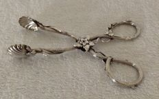 Silver tongs, Mathias Skytt, Rusland, 1850-1866