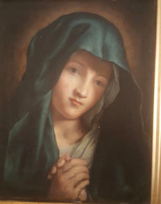 Anonymous (late 17th century) Madonna Vergine in preghiera
