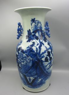 Large, porcelain vase - China - 19th century