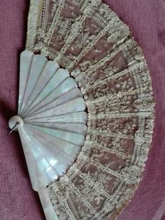 French noblewoman fan, 19th century