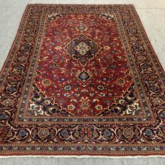 Original hand-knotted classic Kashan carpet, 298 x 200 cm, approx. 10 years old