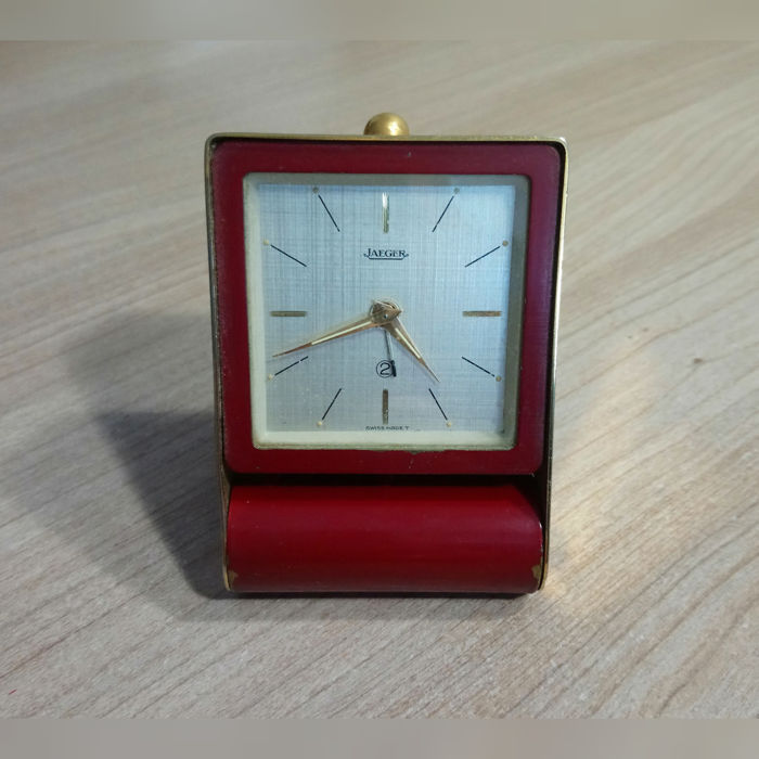 Jaeger LeCoultre travel alarm clock