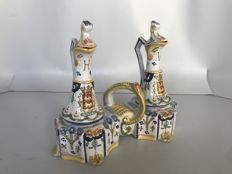 Ceramic oil and vinegar set