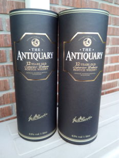 2 bottles - The Antiquary 12 years old