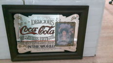 Wonderful Coca Cola mirror from the 1960s