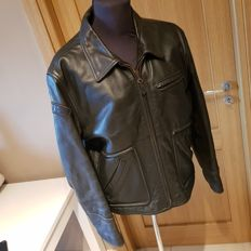 Diesel - Leather biker jacket