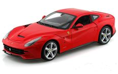 Hot Wheels - Scale 1/18 - Ferrari F12 Berlinetta - Colour Red
