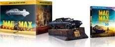 Mad Max Fury Road Blu Ray / DVD Box set  including Mad Max Interceptor Scale 1/24 - Limited Collector's Edition