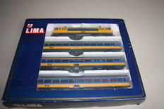 Lima H0 - 810100 - 4 piece train set of the NS