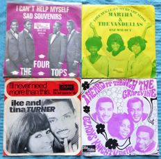 Lot of 6 soul/funk/R&B singles from the sixies; all Dutch pressings