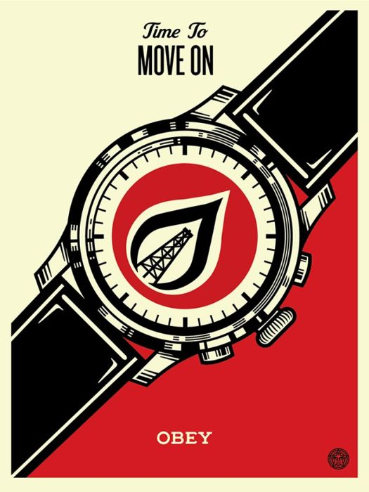 Shepard Fairey (OBEY) - Time to Move On