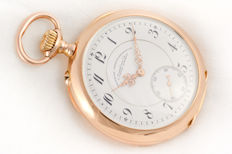 A. Lange & Söhne - rare pocket watch 14k solid yellow gold  - Uomo - 1901-1949