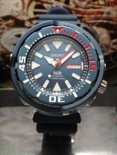 Seiko 51mm Tuna Padi Men Watch - SRPA83K1