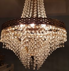 Beautifully Shaped Chandelier, Late 20th Century