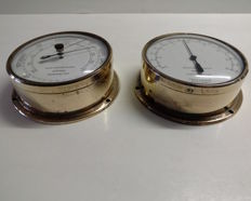 Barometer and Thermometer - Weathermaster