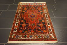 Unique old Persian carpet Bidjar, best quality wool, natural dyes, made in Iran, 80 x 130 cm