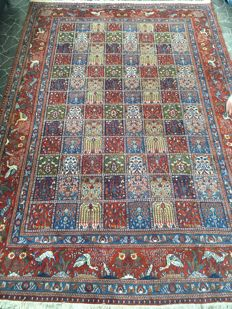 Hand-knotted Persian rug Moud, 300 cm x 203 cm - Iran