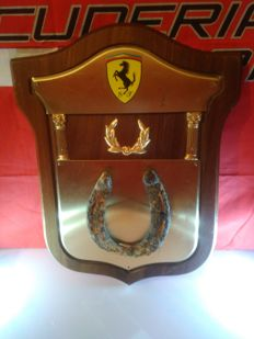 FERRARI Gadget. Horseshoe-fortunately from Mustang. Chattanooga / Fort Oglethorpe, Georgia, USA 1863y.