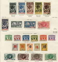 French colonies - Extended collection of various African countries from the classical period up to the 1940s.
